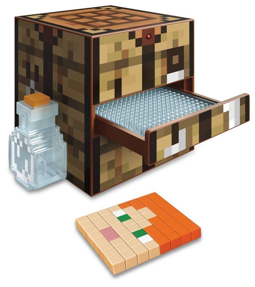 Minecraft Crafting Table Brinquedos De Minecraft Decoração Minicraft Ideias De Minecraft