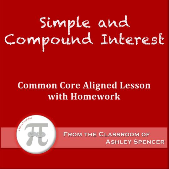 Compound interest lesson plan high school