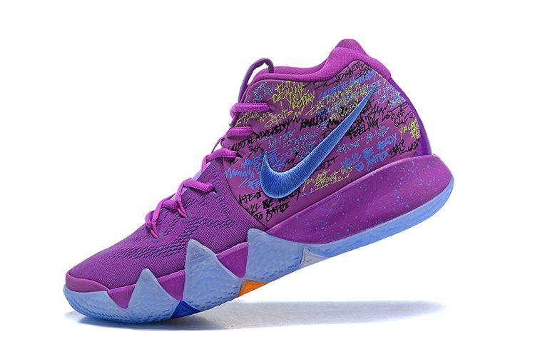 size 40 20eaa 43387 Fashion 2018 Nike Kyrie 4 Confetti Multi-Color Multi-Color Youth Big Boys  Basketball