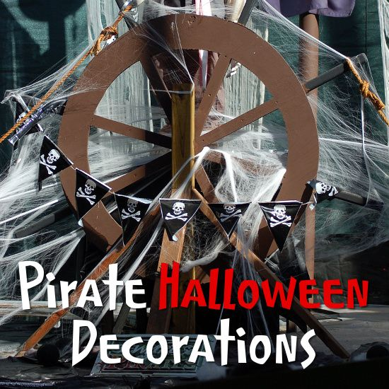 Pirate Halloween Decorations, Props and Ideas Pinterest Pirate - halloween props decor