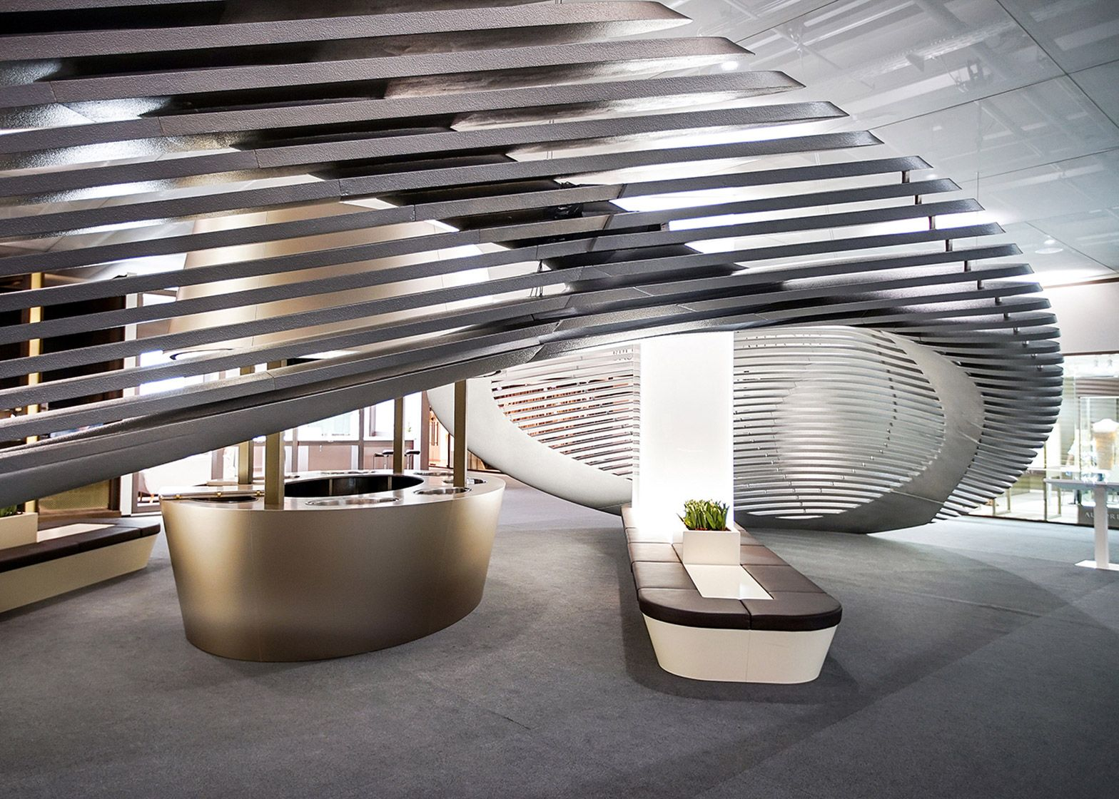Georg Jensenu0027s Baselworld Installation Designed By Zaha Hadid