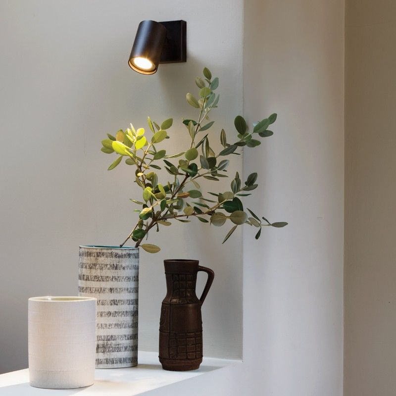 Astro Ascoli Single Plate Spotlight - Bronze | Verlichting ...