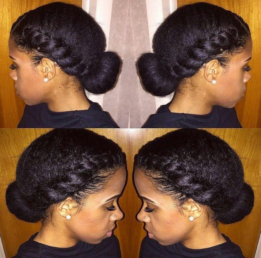 Two strand twist_low bun msrokia Twist hairstyles