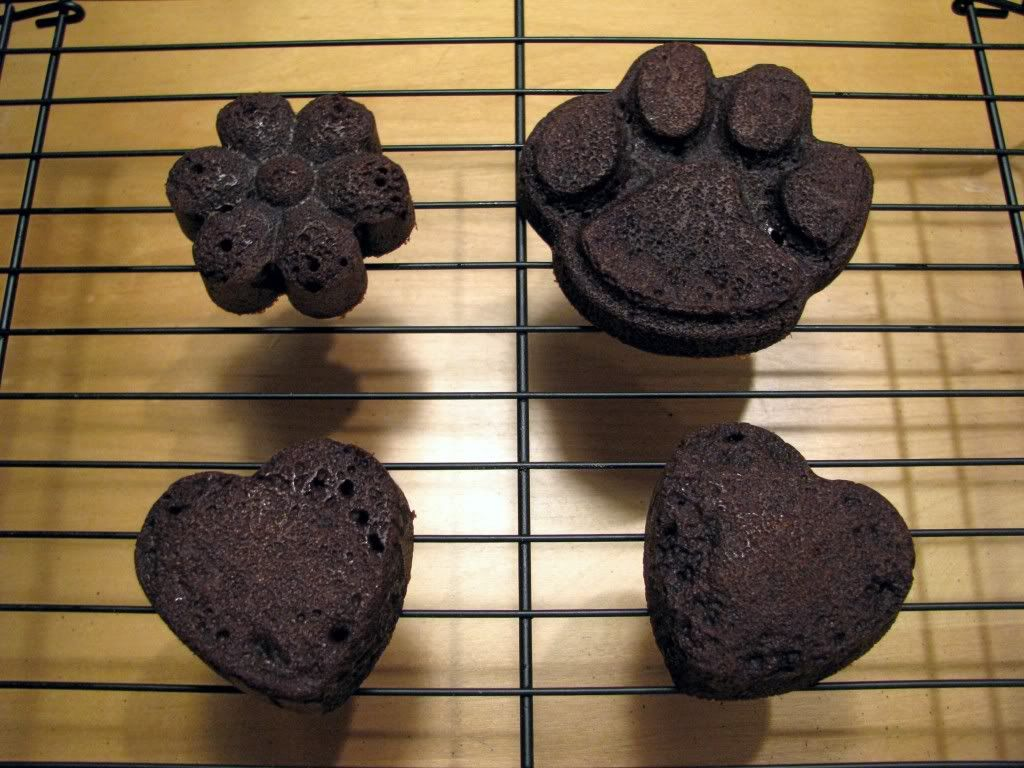 Dog Treat Recipes Carob Puppy Brownies Homemade Pet Treats