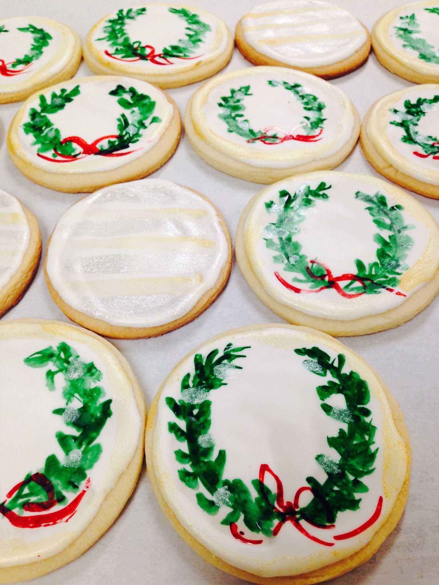 Hand Painted Christmas Cookies Gourmet Girl Christmas Cookies