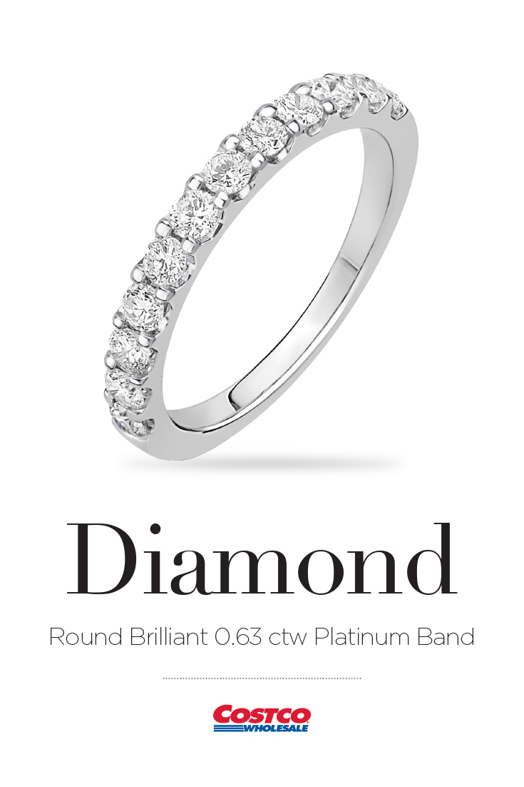 Costco Makes Purchasing Quality Jewelry Easy By Offering Only The Industry S Highest Quality Diamonds At The Lowest P Diamond Bands Diamond Jewelry Inspiration