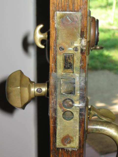 Locksmithing Mortise Lock Removal Thumb Turn Antique Locks