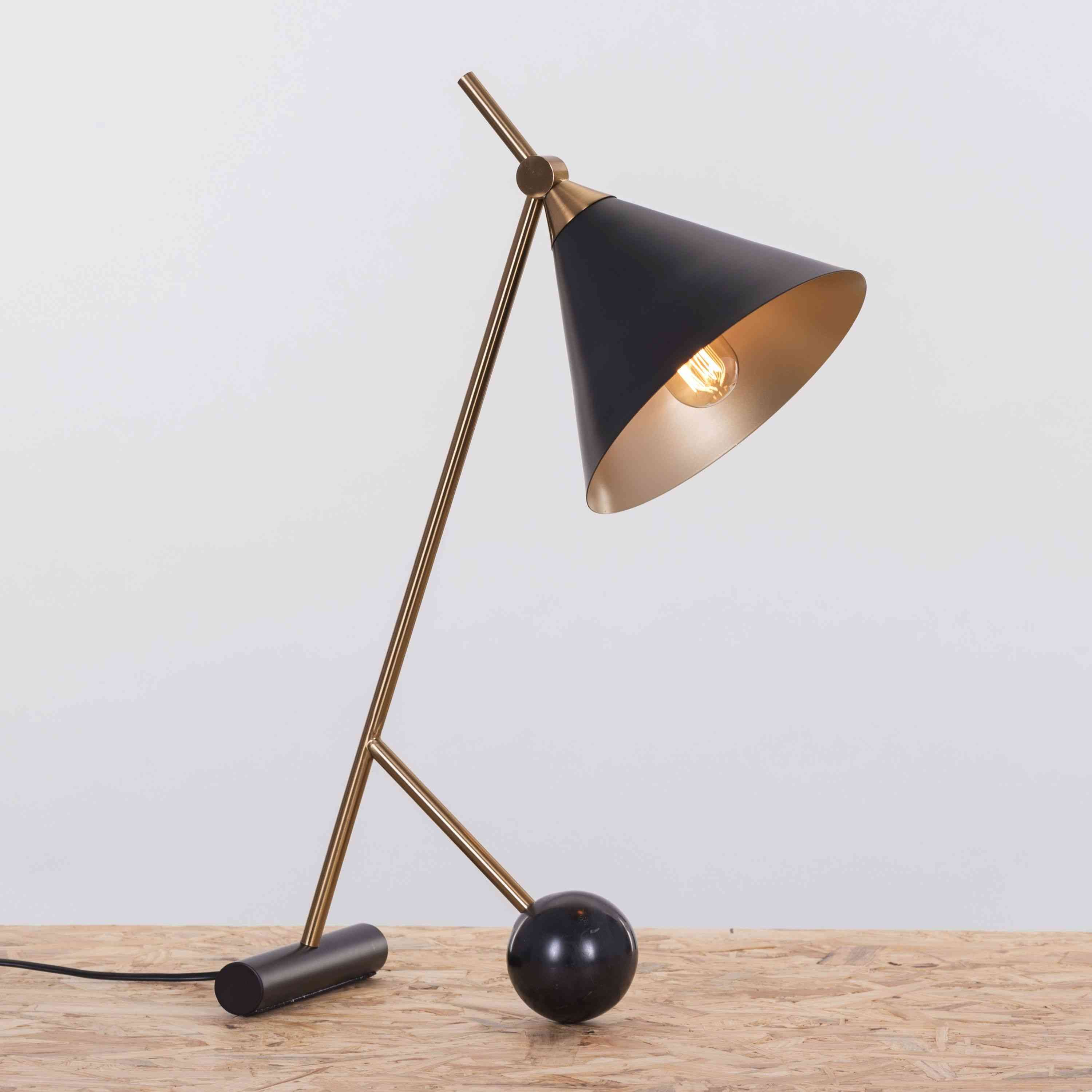 The Night Watch (Black) Smart LED Table Lamp: Buy Table