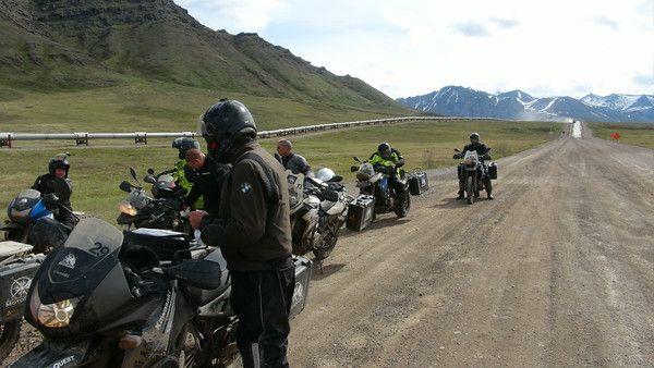 Prudhoe Bay Motorcycle Tour Prudhoe Bay Alaska Travel
