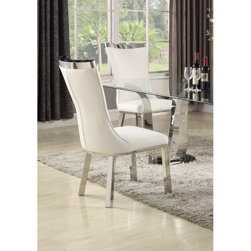 Adelle Upholstered Dining Chair In 2020 Dining Chairs