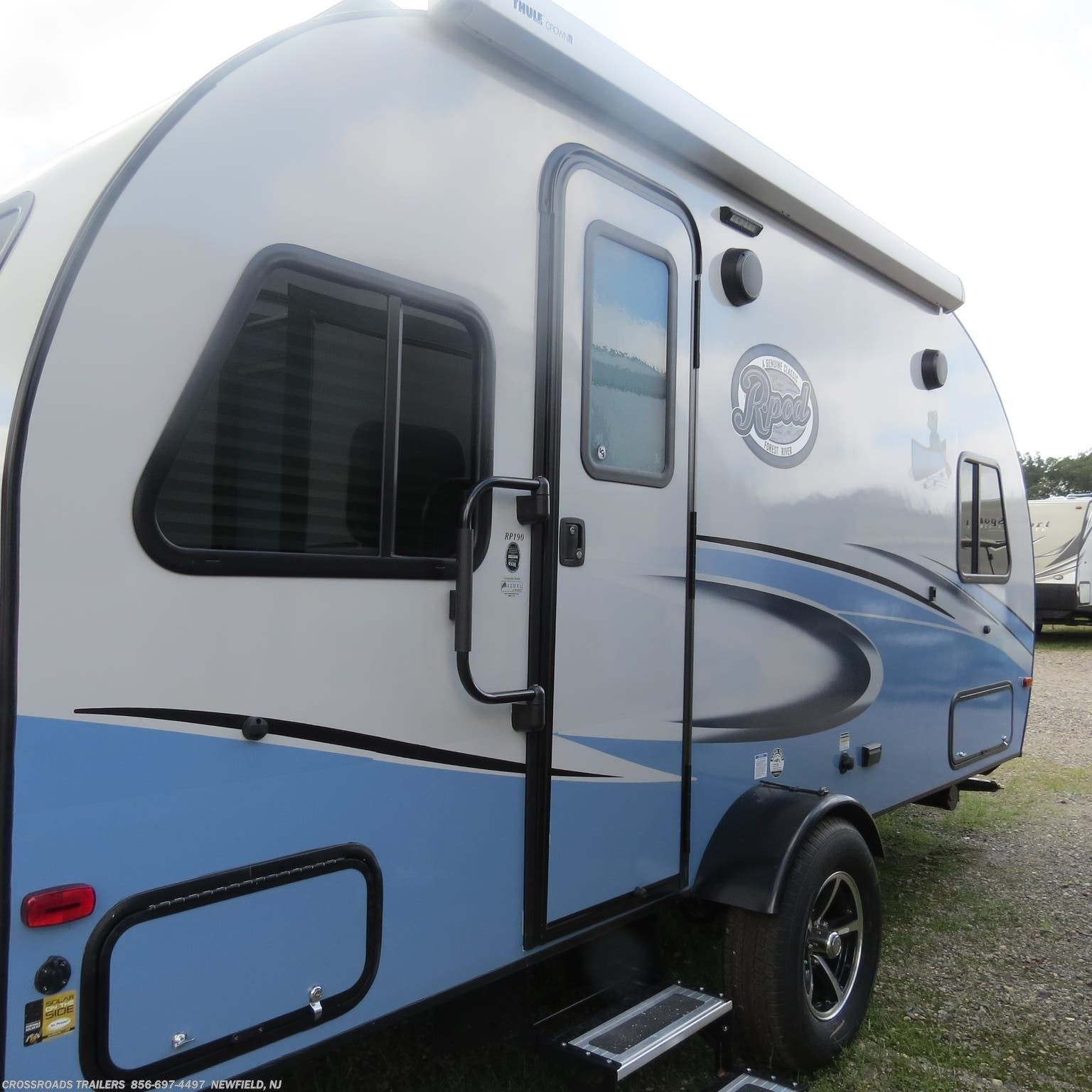 2019 Forest River R Pod Rp 190 On Rvusa Travel Trailers In 2019
