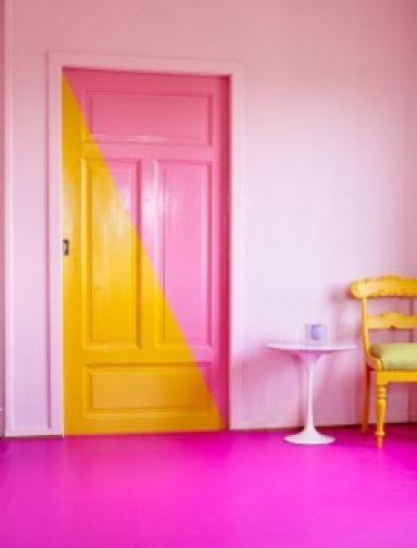 Rosa og gult er årets farger 2016