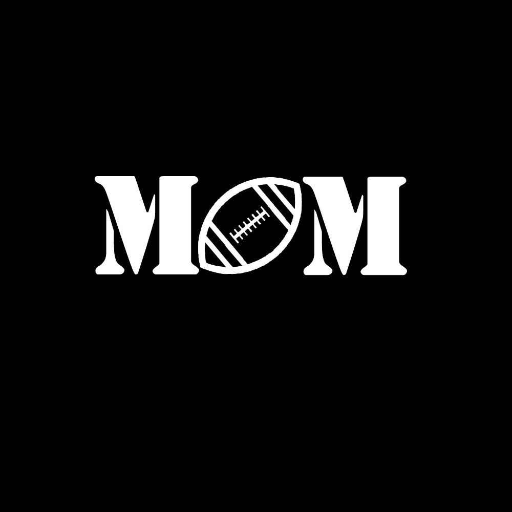 Football mom car vinyl window sticker decal 300 via