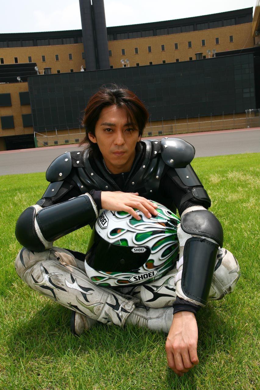 autoracer katsuyuki mori オートレーサー 森且行 昭和レトロ gpz900r カスタム スター