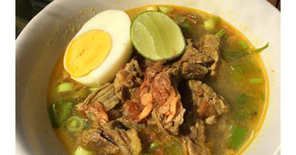 Resep Soto Sulung Mantap Layak Jual Oleh Wieke Dianing S Resep Resep Masakan Resep Makanan Masakan