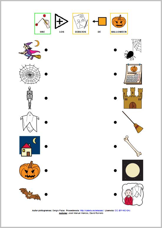 MATERIALES - Actividades para Halloween Conjunto de actividades para ...