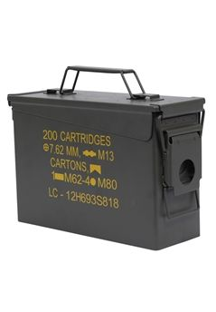 Ultra Force .30 Caliber Mil Spec Ammo Cans | Buy Now at camouflage.ca