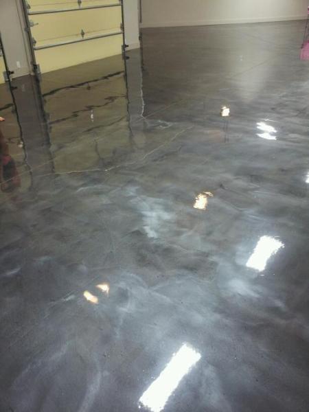 Kansas City Gray Metallic Epoxy Flooring Repin Amp Click