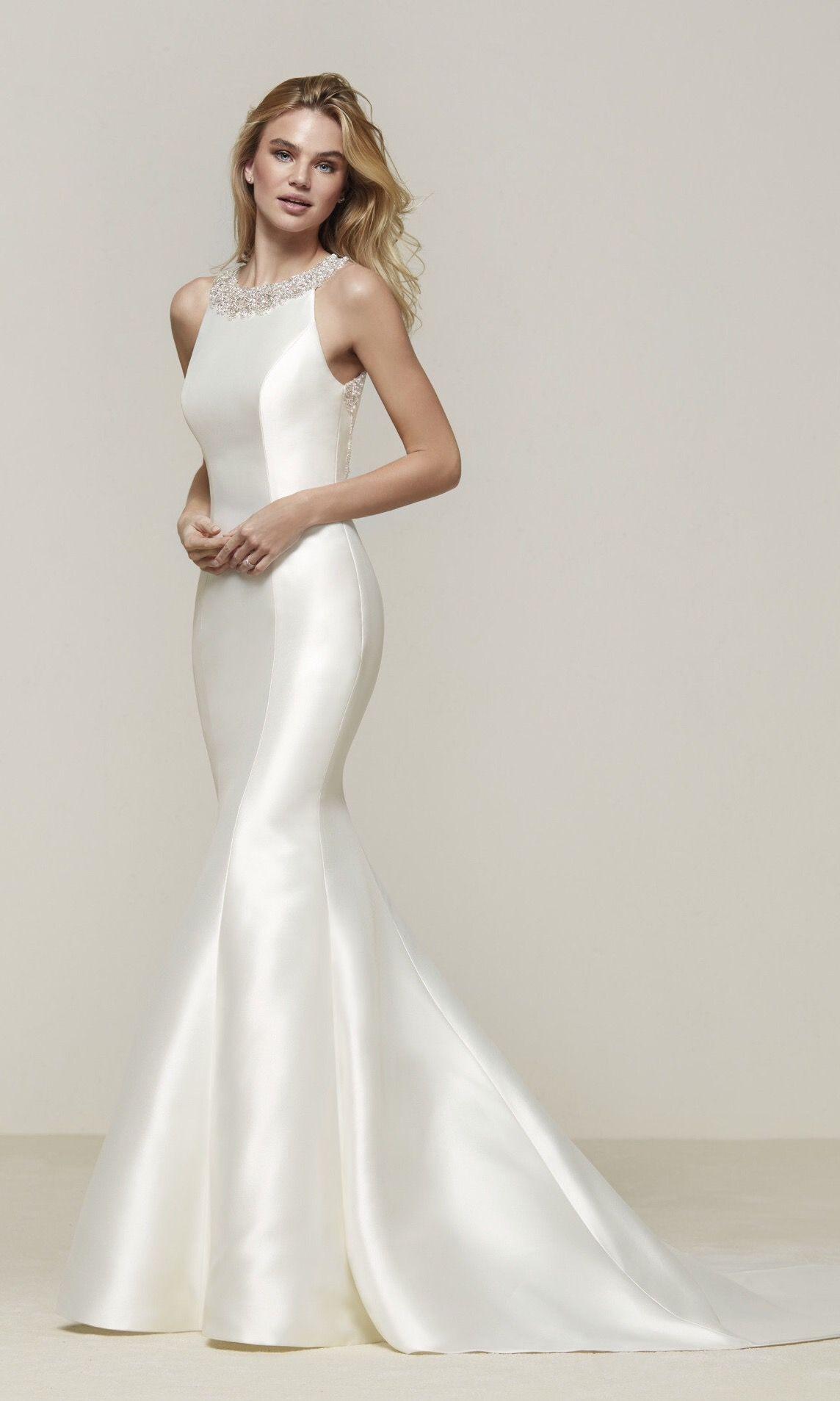 Pronovias collection drupa wedding dress ideas pinterest