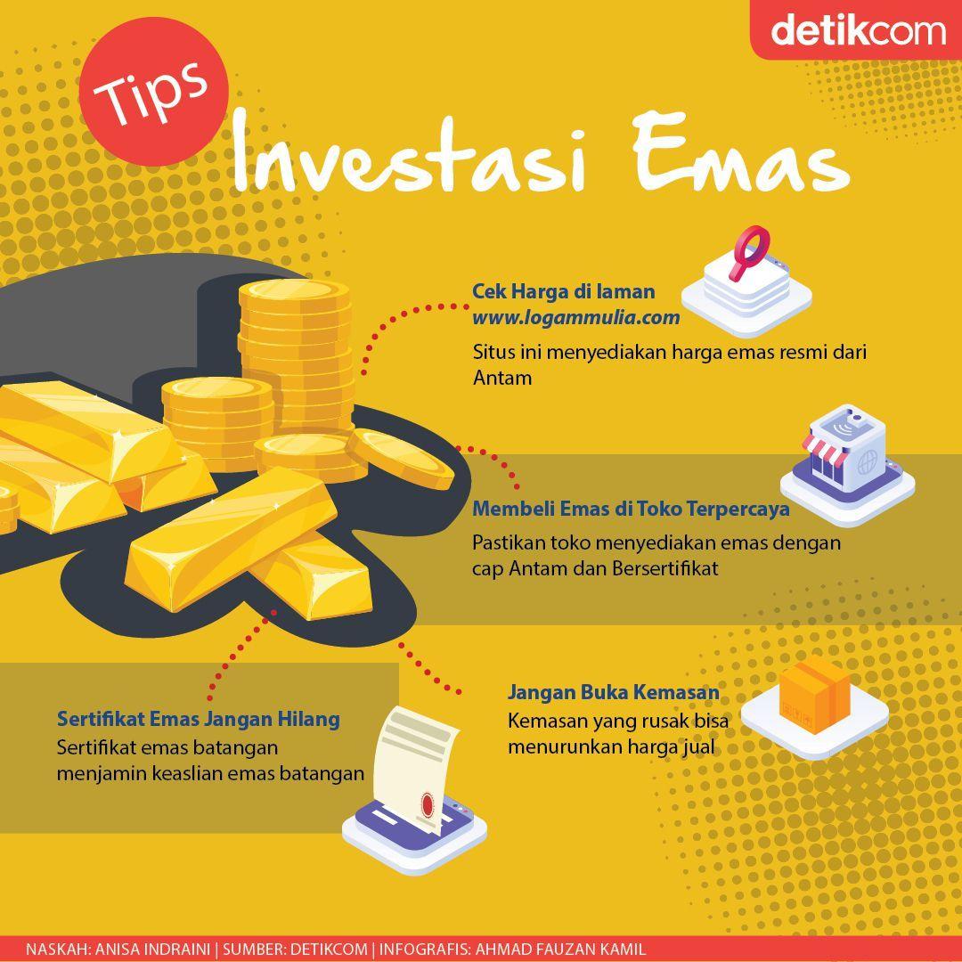 Mau Mulai Investasi Emas Cek Berita Ini Dulu Investasi Akuntansi Keuangan Keuangan