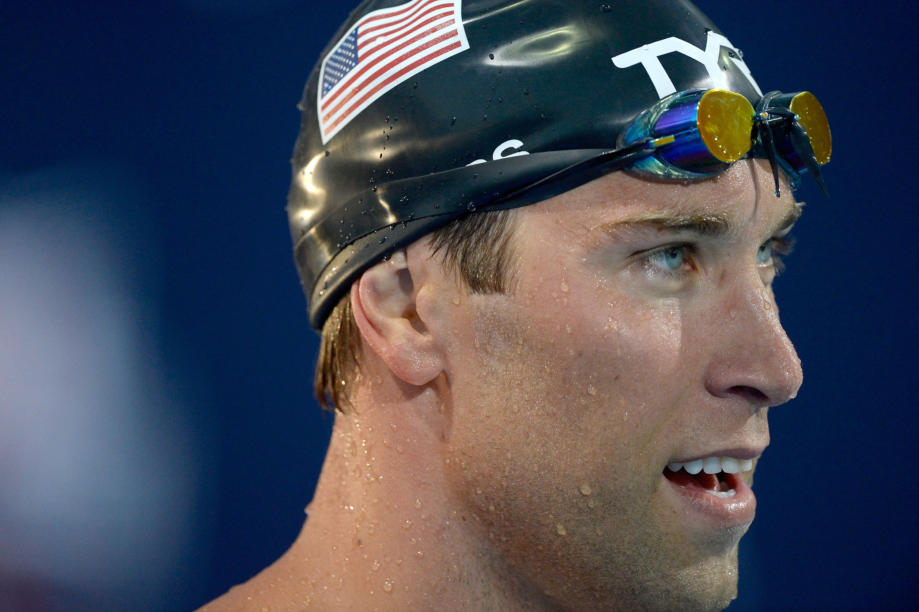 Matt Grevers Wins Michael Phelps Sixth In 100m Back Missy Franklin