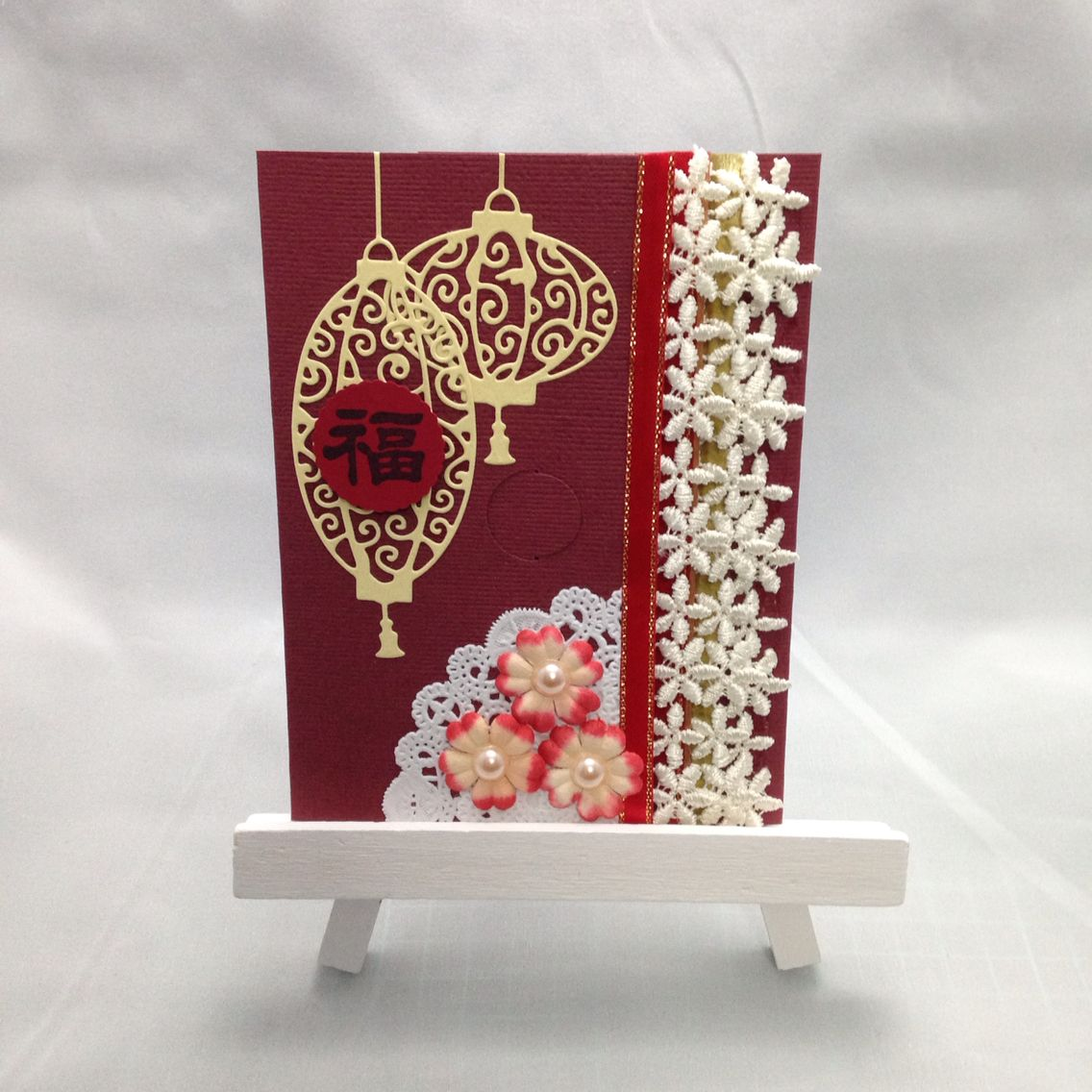Chinese New Year greeting card Cards handmade