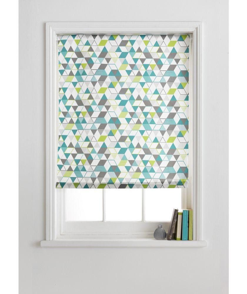 Roller blinds for bathrooms uk - Buy Colourmatch Roller Blind 6ft Geometric At Argos Co Uk Your