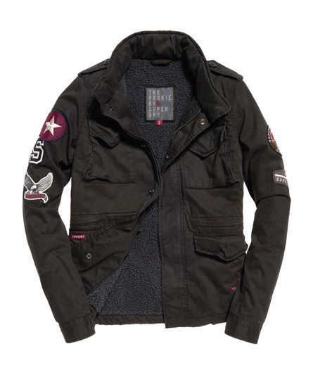 Winter Rookie Military Patch Jacket | I Want This | Jackets