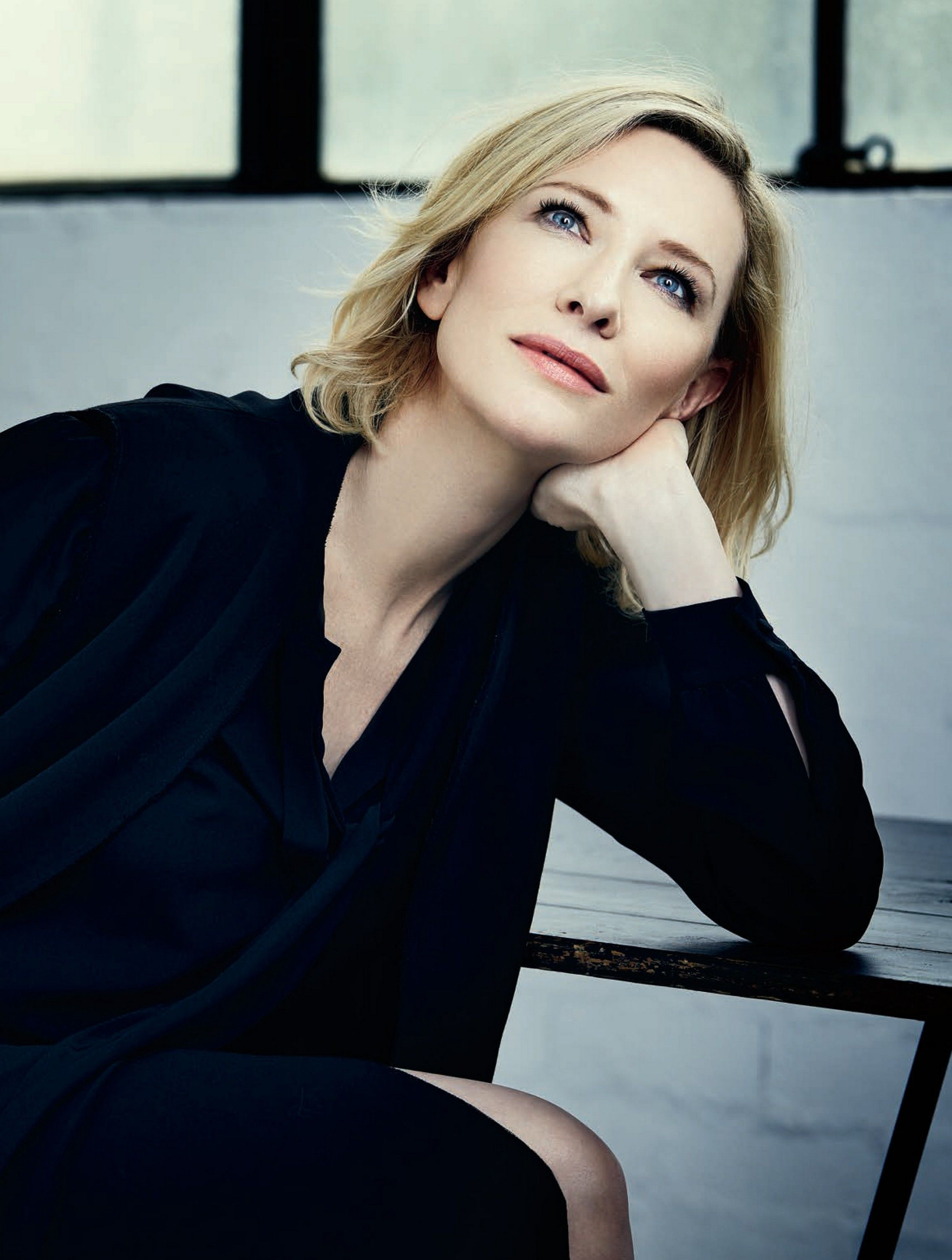 Cate Blanchett photoshoot for Rhapsody Magazine Dec 2016 Photography by Michele Aboud