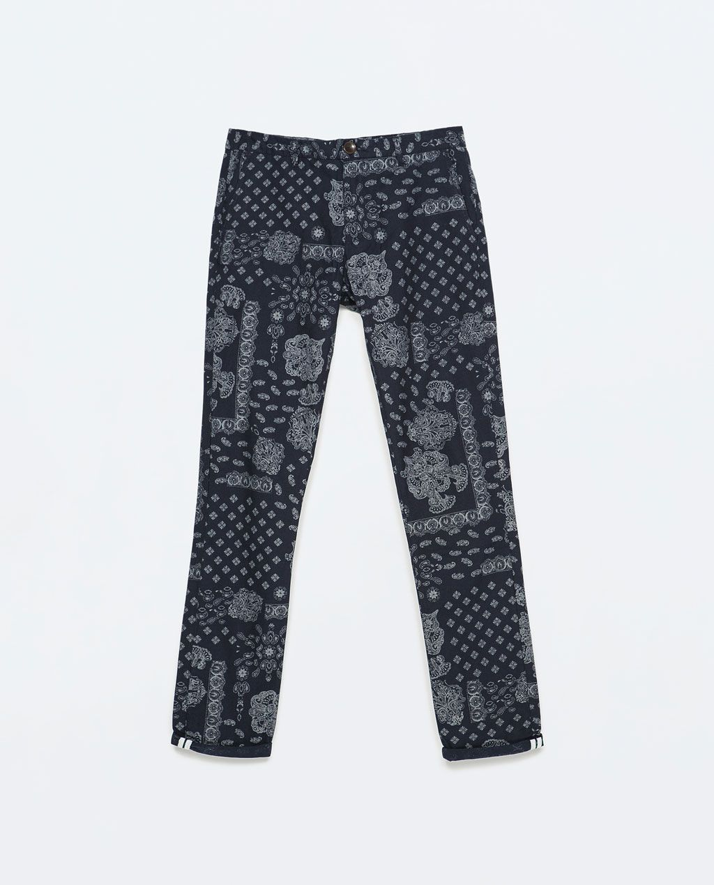 c432880c ZARA - MAN - PAISLEY PRINT TROUSERS | Ways to dress up | Printed ...