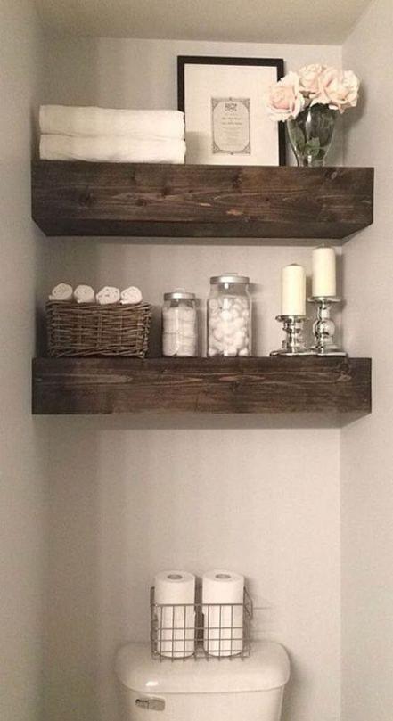 Photo of 32+ Ideas Farmhouse Bathroom Shelves Light Fixtures