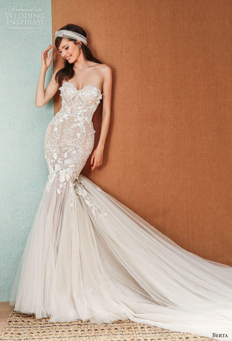 Berta Privée Spring 2021 Wedding Dresses Wedding