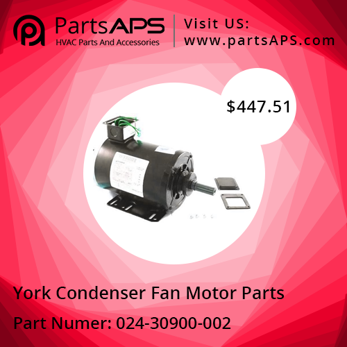 Boy York Fan Motor at PartsAPS for Low Cost Fan motor