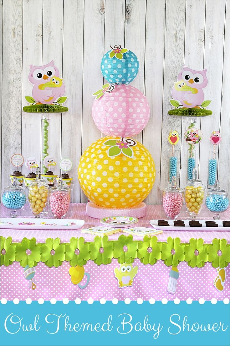 Cute Owl Baby Shower Ideas Owl Baby Shower Decorations Owl Baby