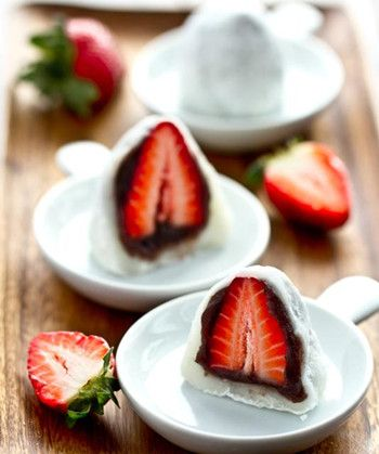 Delightful Strawberry Mochi