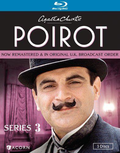 Poirot Series Three Blu Ray Acorn Media Http Www Dp B006jy3ocw Ref Cm Sw R Pi Dp Qqvub0fmprqz Agatha Christie Agatha Christie S Poirot Poirot