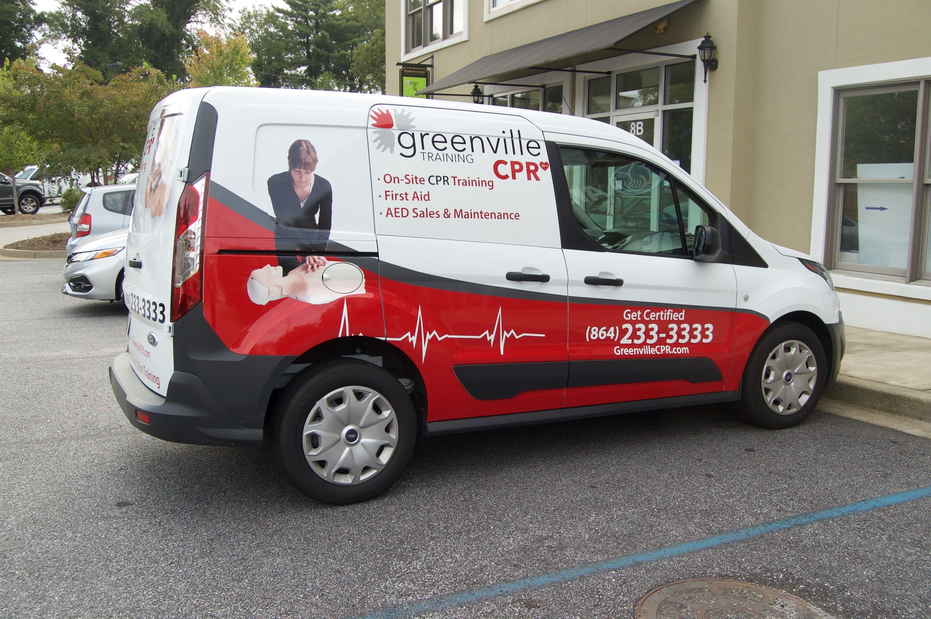 Check Out Greenville Cpr For Very Educational Cps Training Vans