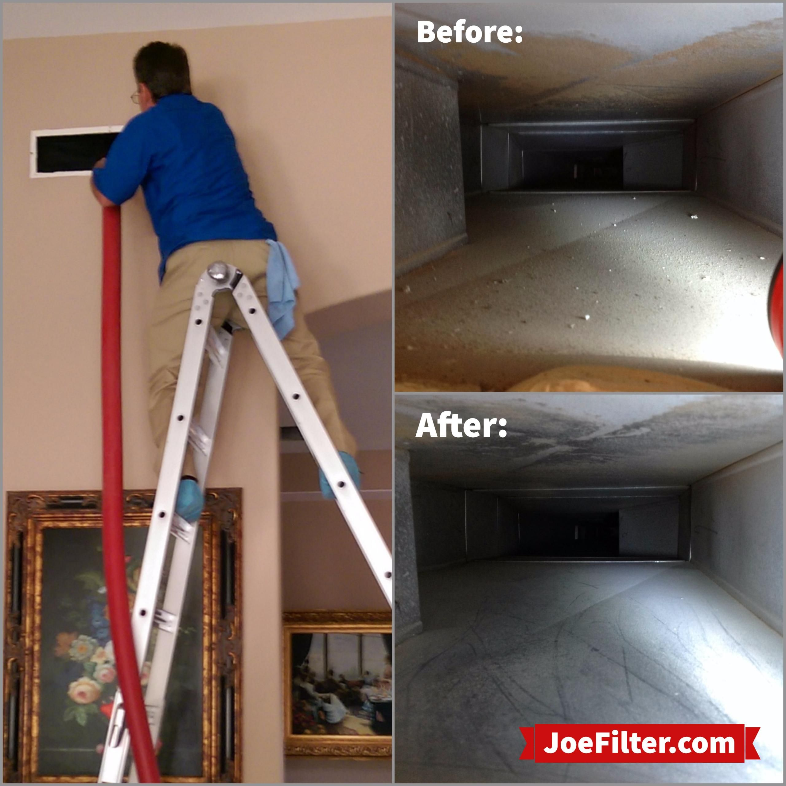 Air Duct Cleaning is an important step in improving your