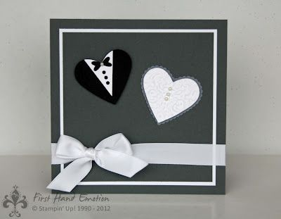 Stampin' UP by First Hand Emotion: Mr. and Mrs.