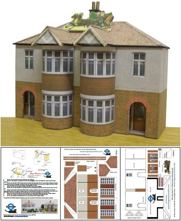 This is a picture of Versatile Paper Buildings Templates