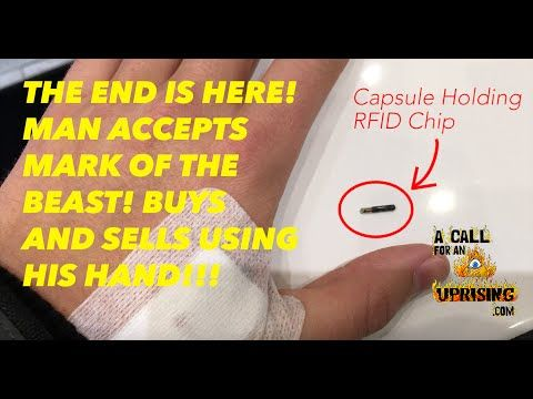 THE END IS HERE! MAN ACCEPTS MARK OF THE BEAST! BUYS AND SELLS USING HAND! - YouTube