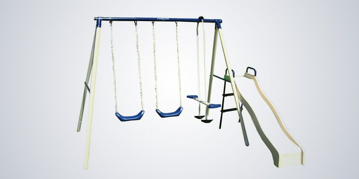 Flexible Flyer Lawn Swing Frame Review | Baby Swing Guide ...