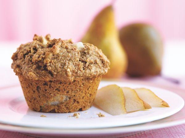 Pear–Almond Muffins http://www.prevention.com/food/healthy-recipes/20-sugar-smart-brunch-recipes/slide/9