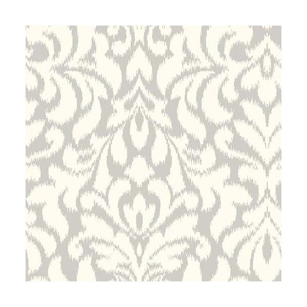 York Wallcoverings Candice Olson Shimmering Details Dark Metallic... ($60) ❤ liked on Polyvore featuring home, home decor, wallpaper, york wallcoverings, metallic home decor, metallic damask wallpaper, metallic wallpaper and double roll wallpaper