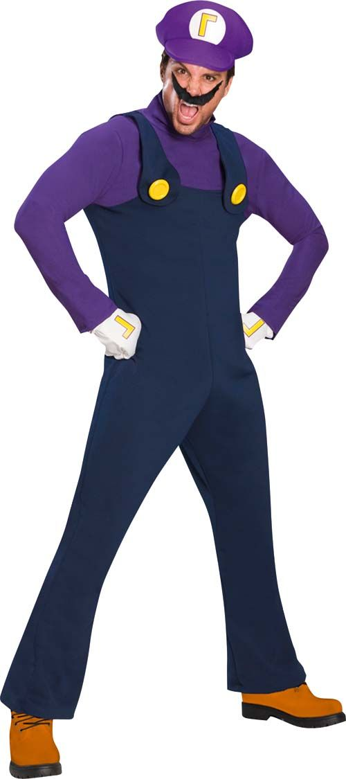 Disfraz de Waluigi™ para adulto. Disponible en www.vegaoo.es ... 1a6ee8a2289