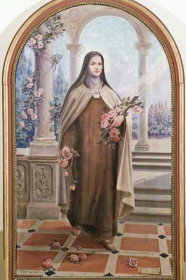 Pequena Flor Del Jardin De Dios Santa Teresinha Santa Teresinha