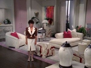 Dynasty sets - Alexis's living room. | Furniture, Design inspo, Interior
