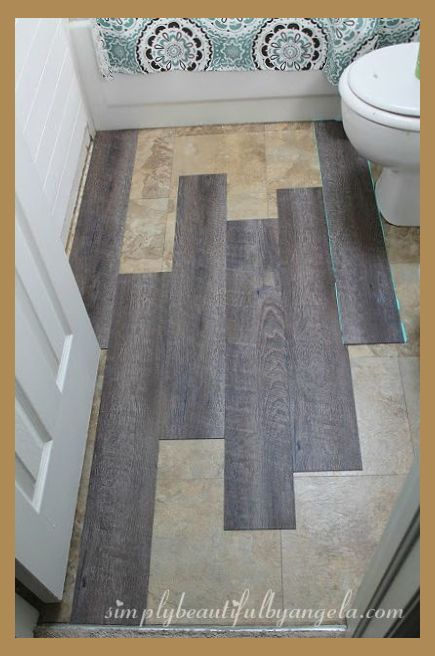 Bathroom Floor Remodel Different Styles And Material Bathroom Remodel Bathrooms Remodel Flooring Cheap Bathrooms