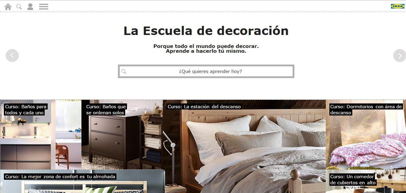 Escuela de decoración online de Ikea http://ini.es/1xCgGe5 ...