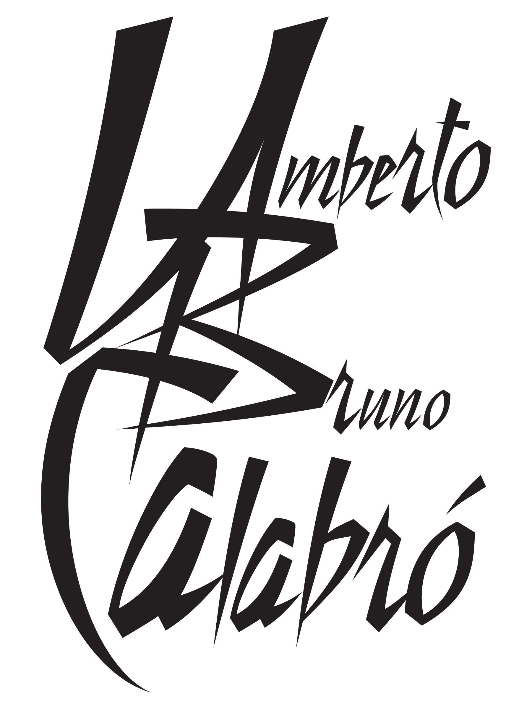 Logo Design for Umberto Bruno Calabro. Local New York